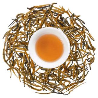 Gold Needles Schwarztee, Gold Nadel Schwarzer Tee
