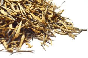 China schwarzer Tee goldnadel