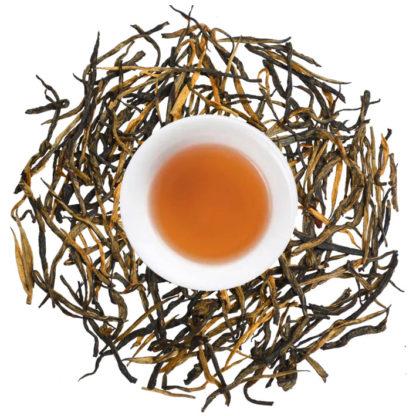 Pine Nadeeles, kiefernadel, schwarztee, schwarzer Tee