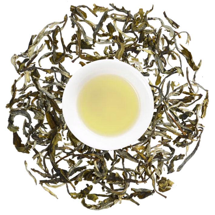 chinesischer Weißer Tee Pai Mu Tan