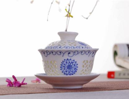 Teetasse, Porzellan, tea cup Glas, Glass,ganwan, LK, Becher