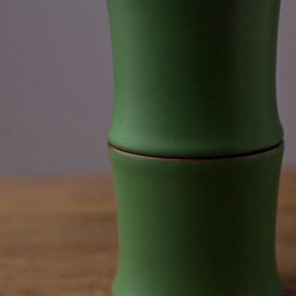 Tee keramik, Bambus Tasse, Tee Becher, Handarbeit tea cup