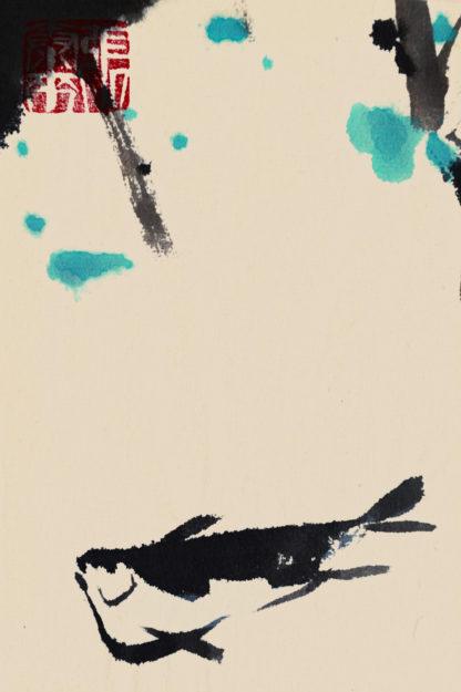 ein Fisch,Tuschemalerei,Chinesische Malerei