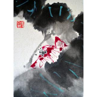 Lotus, Tuschemalerei,chinese painting
