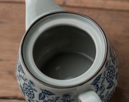 chinesische Teekanne 500 ml, 2 Teetassen. 1 Teesieb