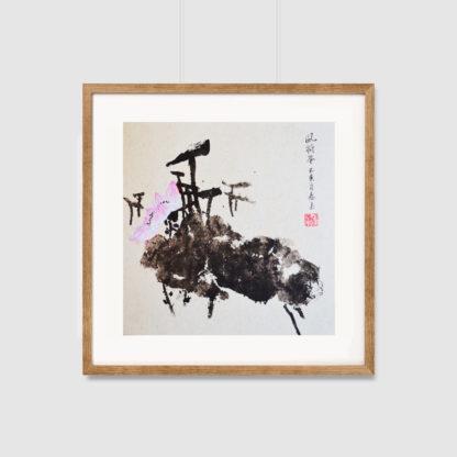 Lotus,painting,chinese painting,chinesischer Maleirei