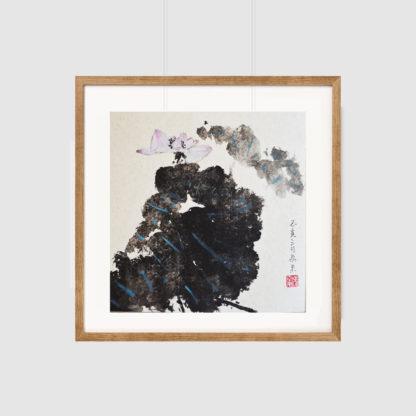 Lotus,Tuschemalerei,Chinesische Malerei,