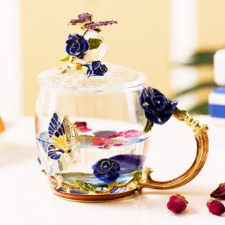 Glas Tasse Becher cup