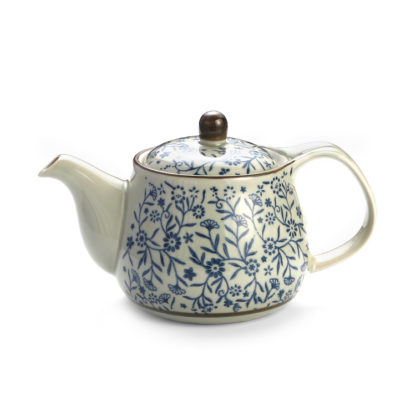 Porzellan, Tee, kanne, Teesieb, bambus