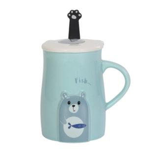 Tasse,Porzellan,Tee,Becher,cup,Bär,Cartoon