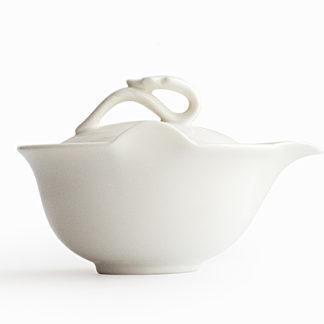 handbecher, Porzellan, Tee, Weiß, Teesieb