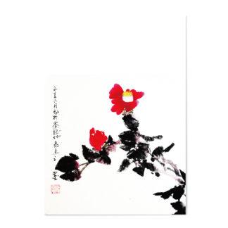 postkarte postcard camellia Kamelie