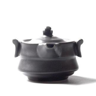 japan,Teekanne,schwarz,Porzellan