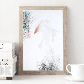 goldfish Fisch sumie painting chinesische japanische Tusche Malerei janpanises chinese ink painting