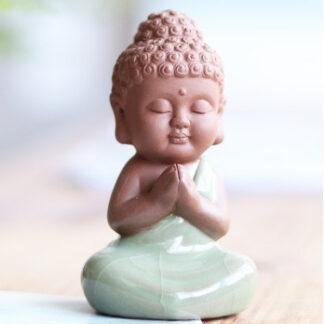 Keramik Buddha gift Geschenk mini rulai