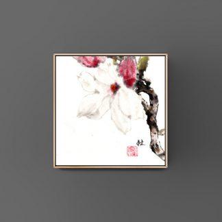 Magnolia Magnolie sumie painting chinesische Tusche japanische Tusche Malerei janpanises chinese ink painting