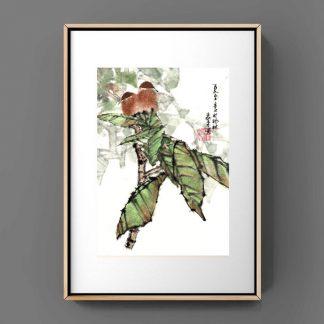 bird Vogle sumie painting chinesische japanische Tusche Malerei janpanises chinese ink painting 鸟
